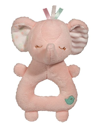 (Pink Elephant Rattle)