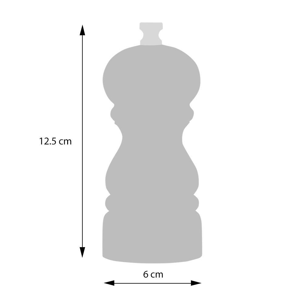 ProCook Acrylic Salt or Pepper Mill Set 12.5cm 2 Piece