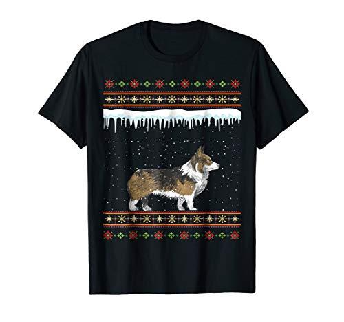 Welsh Corgi Ugly Christmas T-Shirt