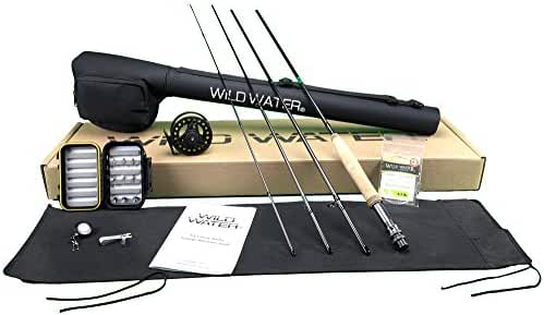 Wild Water Fly Fishing Complete 3/4 (9' Rod) Starter Package