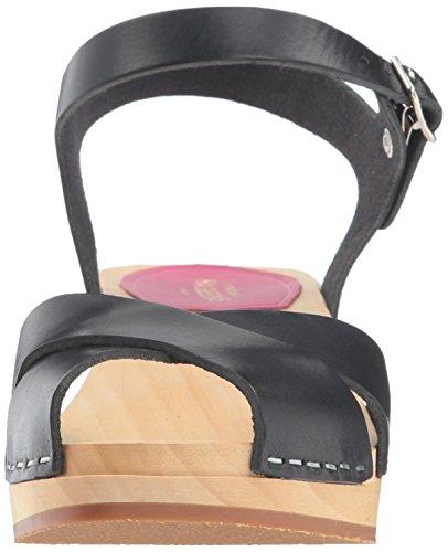 Mirja Black Sandals Back Swedish Hasbeens Sling black Debutant 01 Women''s qxwaaS0AE
