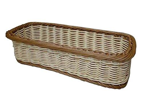 - Alien Storehouse Rattan Chopsticks Basket Flatware Storage Tray Cutlery Organizer