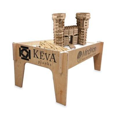 KEVA Wood Play Table by Mindware (Image #1)