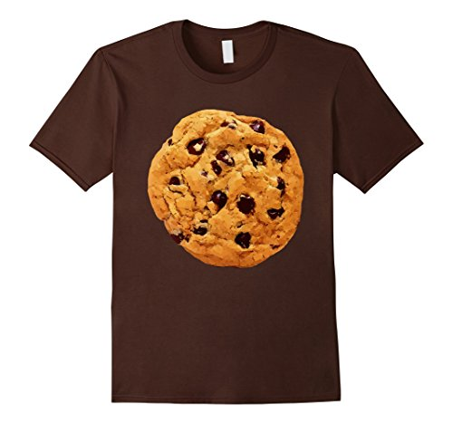 Mens Funny Last Minute Halloween Costume Cookie T-Shirt Big Tee XL (Funny Halloween Costumes For Adults Last Minute)
