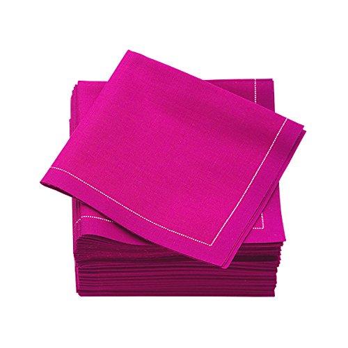 """MYdrap SA21/804-5 Pre-Folded Cotton Luncheon Napkin, 4"""" L..."""