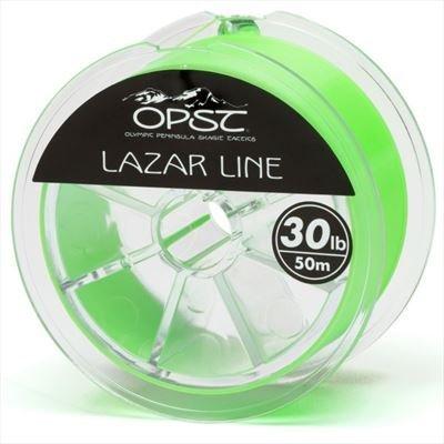 OPST Green Lazar Line Running Line-35lb