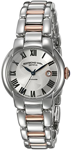 Raymond-Weil-Womens-Jasmine-Swiss-Automatic-and-Stainless-Steel-Casual-Watch-ColorTwo-Tone-Model-2629-S5-01659