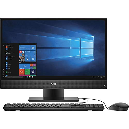 Dell OptiPlex 5260 1920 x 1080 All-in-One Desktop Computer with Intel Core i5-8500 3 GHz Hexa-Core, 4GB RAM, 500GB HDD, 21.5' (TPM20)