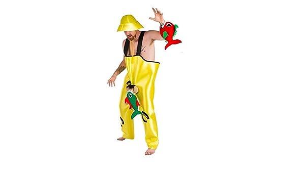 Disfraz de Pescador con Pirañas - Hombre, L: Amazon.es: Ropa y ...