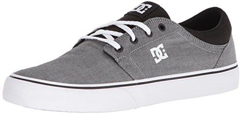 DC Men's Trase TX SE Skate Shoe, White/Black, 10 D D US ()