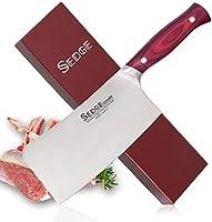 Sedge Paring Fruit Knife - German 1.4116 Japanese Aus-10 High Carbon Stainless Steel - Ergonomic Handle with Gift Box