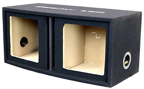 DEEJAY LED 2X12SQUAREVENTED Woofer Box by Deejay LED
