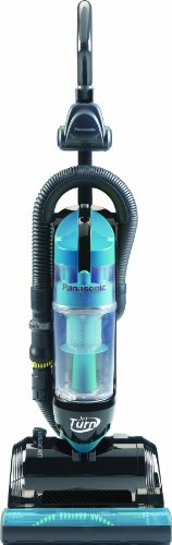 """Panasonic MC-UL810 Bagless """"Jet Turn"""" Upright Vacuum Cleaner, Teal with Black, Appliances for Home"""
