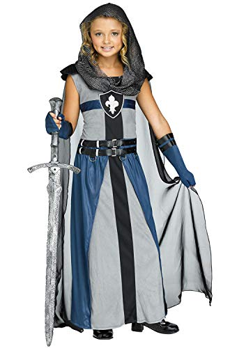 Fun World Knight Child Warrior Costume, X-Large, Multicolor 124762XL -