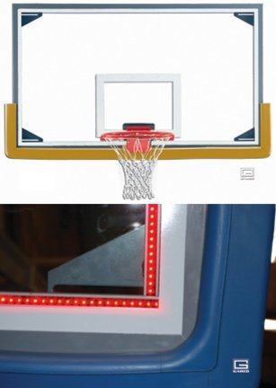 Led Basketball Goal Lights in Florida - 3