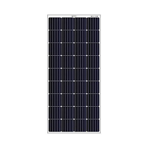 Bluebird Solar 190 Watt – 12 Volt Mono PERC Crystalline Solar Panel | BIS Certified | High Efficiency | 5BB A+ Grade…