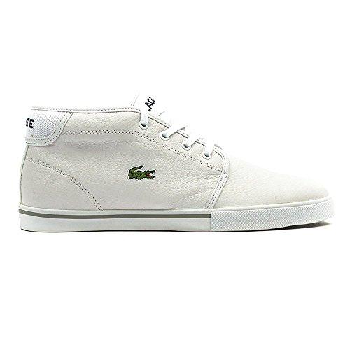 Alto Sneaker Ampthill Lcr3 Lacoste Bianco white Uomo a Collo SPM YFxPYwqf