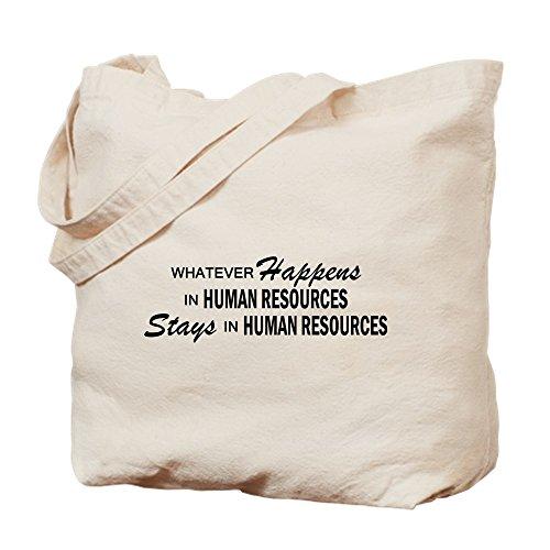 CafePress–pase lo que pase–Recursos humanos–Gamuza de bolsa de lona bolsa, bolsa de la compra