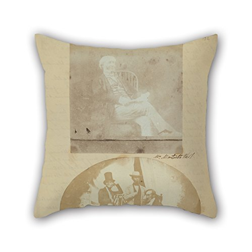 Artistdecor Oil Painting Frances Monteith (British, Active 1840s) - Mr. Erle Monteith. Throw Pillow Covers ,best For Pub,club,bench,dinning Room,outdoor,kids Boys 18 X 18 Inches / 45 By 45 Cm(twice