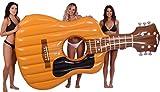 Kangaroo Pool Floats; Acoustic Guitar Pool Raft, 9 Ft