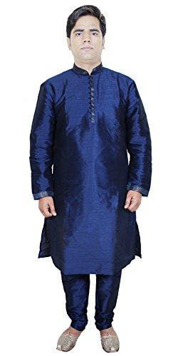 Mens Fashion Outfits Kurta Pajama Punjabi Indian Ethnic Kurta Size M ()
