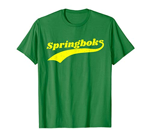 South Africa Rugby Classic Springbok  T-Shirt (Was South Africa Ever A British Colony)