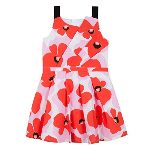 - Catimini Classy & Fresh Posy Flower Sun Dress (6) Pink