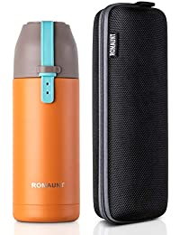 ROMAUNT Vacuum Insulated Water Bottle Travel Thermos...