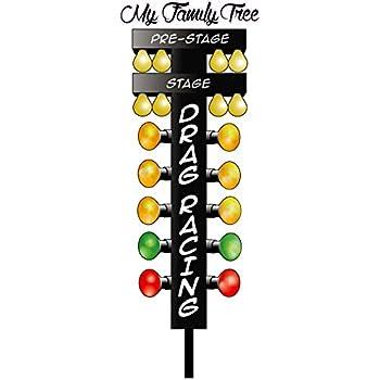 Nostalgia Decals My Family Tree Drag Racing Christmas Tree 12