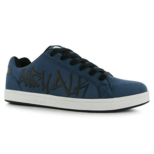 6d760d78974faa Airwalk Neptune Skate Shoes Mens Navy Casual Trainers Sneakers