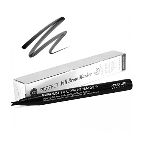 (3 Pack) ABSOLUTE Perfect Fill Brow Marker Raven
