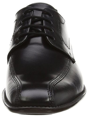 Rubbersole Lace Lloyd Black Schwarz Shoes up Alina 14 Men`s 00 Calfskin Gamon 051 Black qgAngaSW