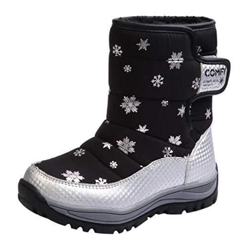 Dainzuy Fashion Kids Baby Winter Snow Boots Fashion Shoes Sneakers (Age:5-5.5T EU:28 US:9.5, ()