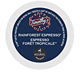 Timothy's Rainforest Espresso Coffee * 5 Boxes of 24 K-Cups * Review
