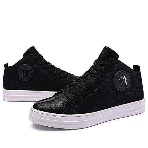 Men's Shoes Feifei Non-Slip Fashion Keep Warm Cotton Shoes 2 Colors (Color : 02, Size : EU43/UK9/CN44)