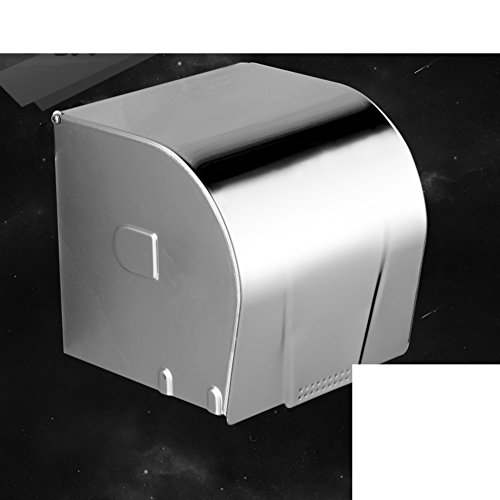 Stainless steel Toilet paper holder Roll rack Paper planes Tissues holder Support Wall-mounting type Bathroom Kitchen Distributor Metal Polish Chrome Waterproof Brushed nickel Their 304-C 5x5x5inch