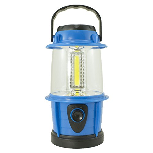 225 Lumens Lantern 3 Panel COB Adjustable/Dimable LED FOR Camping, Workshops, Home, Cabin, or Outbuildings (100% Manufacture Replacement Guarantee) (Blue) by Apollo's Products (Image #1)