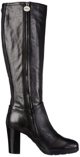 De New C9999 Botas Clásicas Mujer Cuero black Negro Schwarz Geox Vanity D A c5Wnw7wYFq