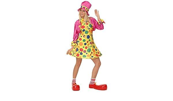 Disfraz de payaso para mujer: Amazon.es: Juguetes y juegos