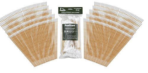 RamRodz Barrel and Breech Cleaners (200-Pack), 9mm/.38/.357/.380-Caliber