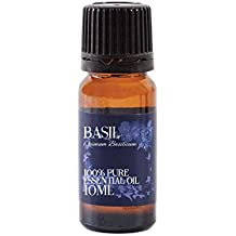 Mystic Moments Basil Essential Oil 100% Pure 10ml