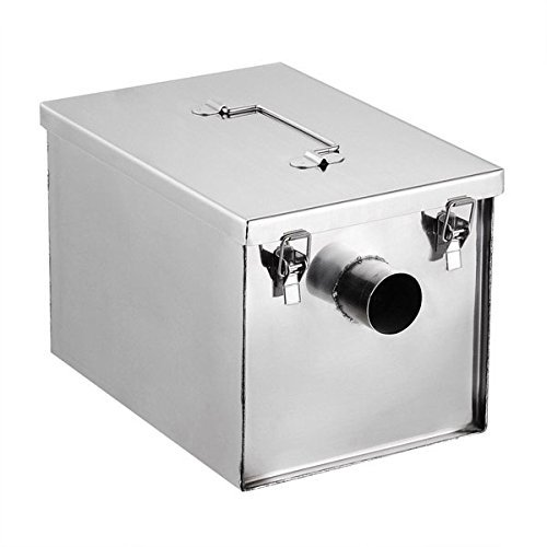 Grease Trap Interceptor 8 lb 5GPM Converter Stainless Steel by Unitech (Image #1)