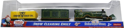 Motorized Emily Engine - Thomas & Friends Trackmaster Snow Clearing Emily