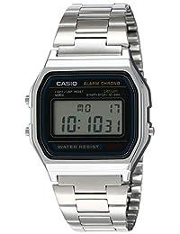 Casio a158W-1Vestido reloj digital