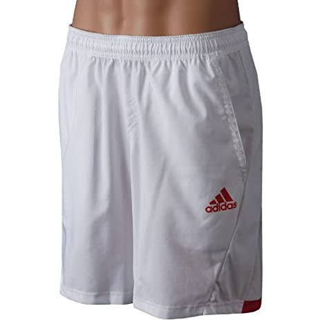 a794c9c717b7e Amazon.com : Adidas adiPower Barricade Men's Shorts - White/Core ...