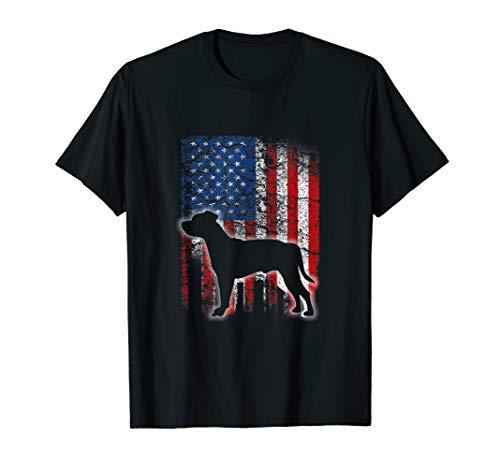 (American Flag Staffordshire Bull Terrier Dog Lover Shirts)