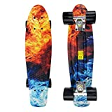 Four-Wheeled Skateboard Professional Brush Street Plastic Water Transfer Flower Board Surface Children's Scooter
