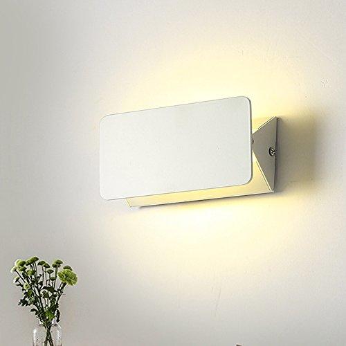 Lumière Acrylique Mur Réglable Applique Moderne Led Rectangle Murale FlcuTK1J3