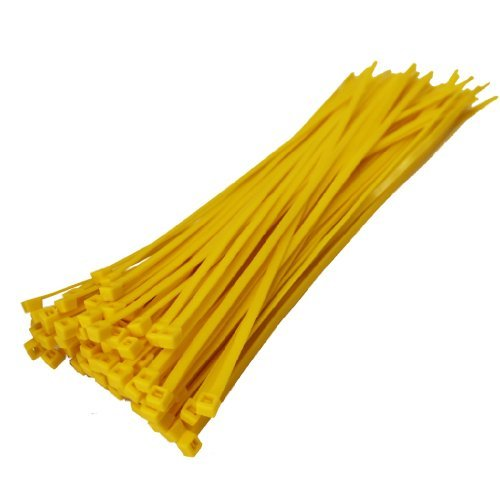 All Trade Direct 1000 X Yellow Cable Ties 300Mm X 4.8Mm Z...