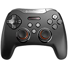 SteelSeries Stratus XL, Bluetooth Wireless Gaming Controller for Windows + Android, Samsung Gear VR, and Oculus